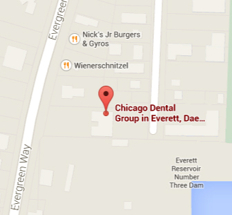 Everett Dental Office Map